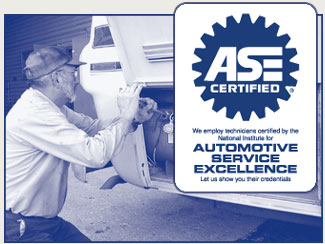 Motorhome Service Center - ASE Certified