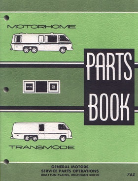 GMC Motorhome & Transmode Parts Book